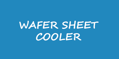 wafer sheet cooler